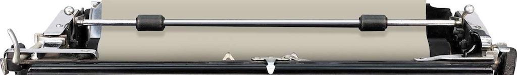 footer image - top of typewriter