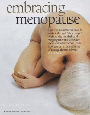 Not your Mother's Menopause - Natural Health 2009 - p1