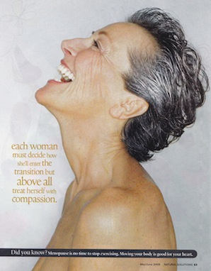 Not your Mother's Menopause - Natural Health 2009 - p8