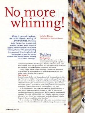 No More Whining! - Parenting, 2007 - p1