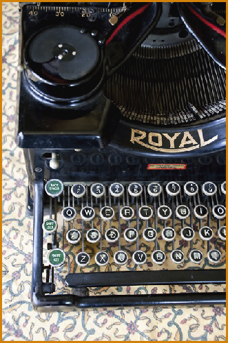 Julie's Typewriter